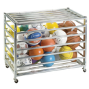 Champion Sports LBCXX Lockable Ball Storage Locker