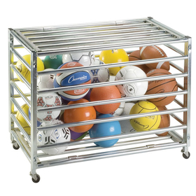 Champion Sports LBCXX Lockable Ball Storage Locker, Price/ea