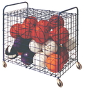 Champion Sports LFX Lockable Ball Storage Locker