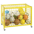 Champion Sports LRCL Locking Ball Storage Locker