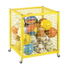 Champion Sports LRCS Locking Ball Storage Locker