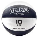Champion Sports MB9 9-10lb Leather Medicine Ball