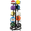 Champion Sports MBR3 Deluxe Medicine Ball Tree