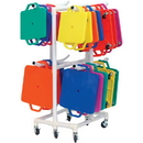 Champion Sports MSCART Scooter ABS Storage Cart