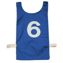 Champion Sports NP2BL Heavyweight Numbered Pinnie, Royal Blue