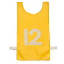 Champion Sports NP2GD Heavyweight Numbered Pinnie, Yellow
