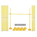 Champion Sports PLYOHRSET Agility Hurdle Set