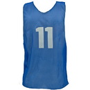 Champion Sports PSANBL Adult Numbered Practice Vest, Royal Blue