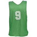 Champion Sports PSANGN Adult Numbered Practice Vest, Green