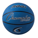 Champion Sports RBB1BL Pro Rubber Basketball, Royal Blue