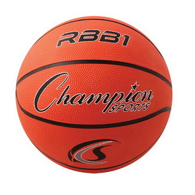 Champion Sports RBB1 Rubber Basketballs, Price/ea