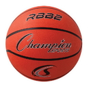 Champion Sports RBB2 Pro Rubber Basketball, Orange