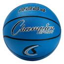 Champion Sports RBB4BL Pro Rubber Basketball, Royal Blue