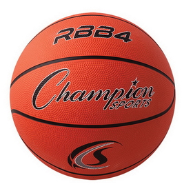 Champion Sports RBB4 Rubber Basketballs, Price/ea