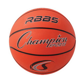 Champion Sports RBB5 Rubber Basketballs, Price/ea