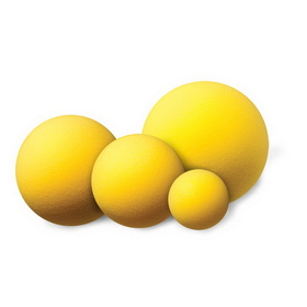 Champion Sports RD6 Uncoated Regular Density Foam Balls, Price/ea
