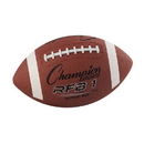 Champion Sports RFB1 Official Size Rubber Football