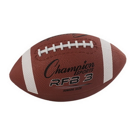 Champion Sports RFB3 Youth Size Rubber, Price/ea