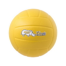 Champion Sports RSVB Rhino Skin Molded Foam Ball, Yellow