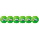 Champion Sports RXD6NGSET Rhino Skin Neon Green Dodgeball Set, Neon Green