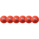 Champion Sports RXD6NOSET Rhino Skin Neon Orange Dodgeball Set, Neon Orange