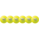 Champion Sports RXD6NYSET Rhino Skin Neon Yellow Dodgeball Set, Neon Yellow