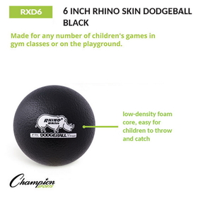 Champion Sports RXD6 Rhino Skin Foam Balls, Price/ea