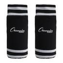 Champion Sports SL4B Sock Style Black Soccer Shinguard