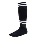 Champion Sports SL8B Sock Style Black Soccer Shinguard
