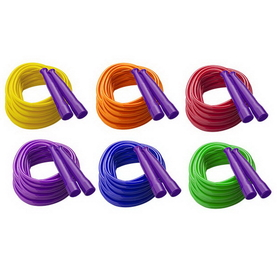 Champion Sports SPR32 Licorice Speed Ropes, Price/pack of 6