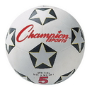 Champion Sports SRB5 Rubber Cover Size 5 Soccer Ball
