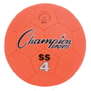 Champion Sports SS4 Super Soft Size 4 Soccer Ball, Fluorescent Orange