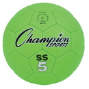 Champion Sports SS5 Super Soft Size 5 Soccer Ball, Fluorescent Green