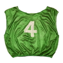 Champion Sports SVMWNGN Practice Numbered Scrimmage Vest, Green