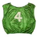 Champion Sports SVYWNGN Practice Numbered Youth Scrimmage Vest, Green