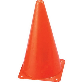 Champion Sports TC9 Hi Visibility Fluorescent Plastic Cone Set, Price/ea