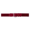 Champion Sports UBRD Adult Baseball Uniform Belt, Scarlet