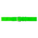 Champion Sports UBYNGN Youth Baseball Uniform Belt, Neon Green