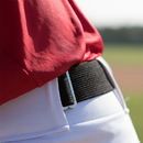 Champion Sports UBYRD Youth Baseball Uniform Belt, Scarlet