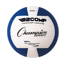 Champion Sports VB2BL VB Pro Comp Series Volleyball, Blue & White