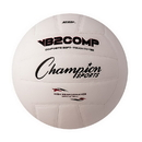 Champion Sports VB2 VB Pro Comp Series Volleyball, White/Black
