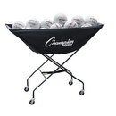 Champion Sports VCPRO Collapsible Volleyball Cart