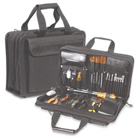 C.H. Ellis Sewn Case - Master Computer Technician-Field Service Zipper Tool Case and Attach - Style Z140, product #: 83-7008