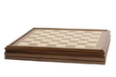 CHH 2154C Deluxe Walnut Chess Board