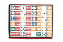 CHH 2517 Double 12 Color Dot Dominoes
