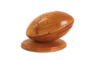 CHH 6141 Wooden football puzzle on a stand