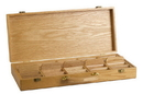 CHH 7015 500 PC Oak Wooden Chip Holder