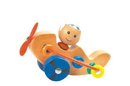 CHH 961682C Wooden Bead Airplane