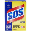 CLOROX SALES 88320 S.O.S Heavy Duty Steel Wool Soap Pad - 15 Count