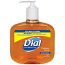 DIAL 80790 Antimicrobial Liquid Gold Soap - 16 oz. Pump